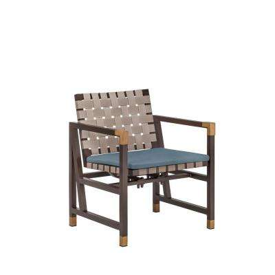 Form Patio Motion Dining Chair in Denim (2-Pack) -- CUSTOM