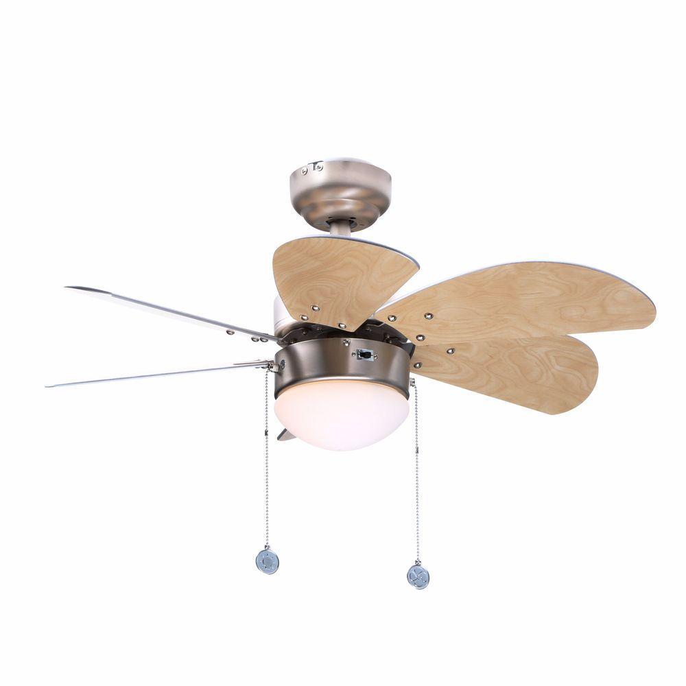 Turbo Swirl 30 in. Brushed Aluminum Ceiling Fan