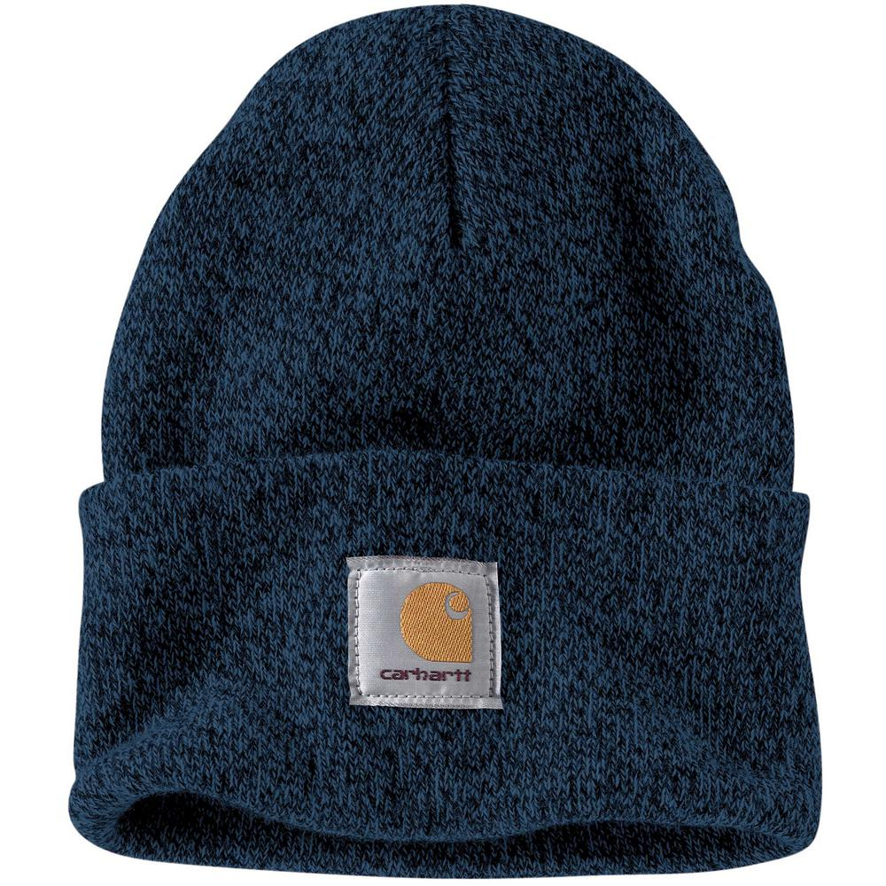 c8122ebe2 Carhartt Men's OFA Dark blue/Navy Acrylic Watch Hat