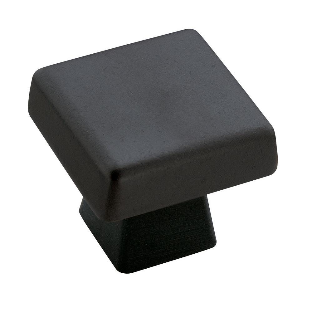 Blackrock 1-3/16 in (30 mm) Length Black Bronze Cabinet Knob