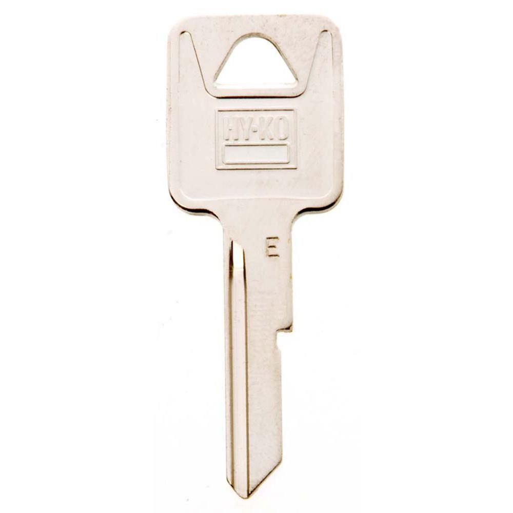 Blank General Motors Key