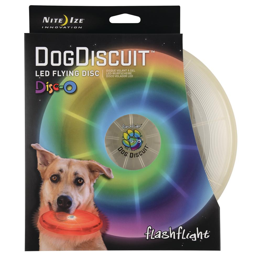 Flashflight Dog Discuit LED Flying Disc-O