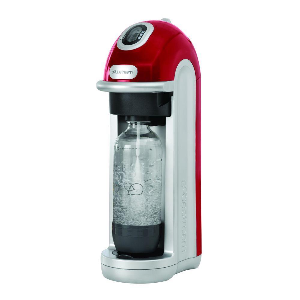 SodaStream Fizz Home Soda Maker Starter Kit - Red-DISCONTINUED