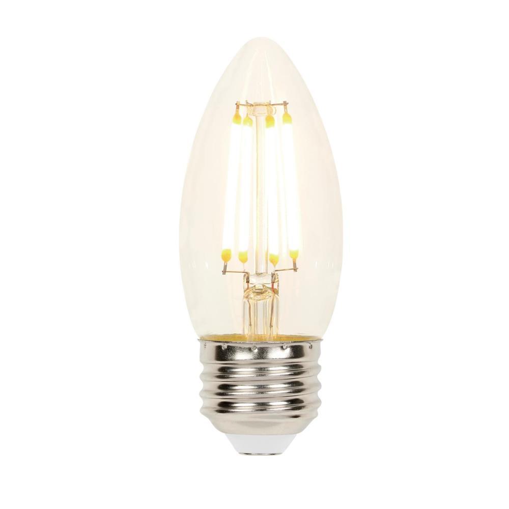 Westinghouse 40-Watt Equivalent B11 Dimmable Filament LED Light Bulb Soft White Light (6-Pack)