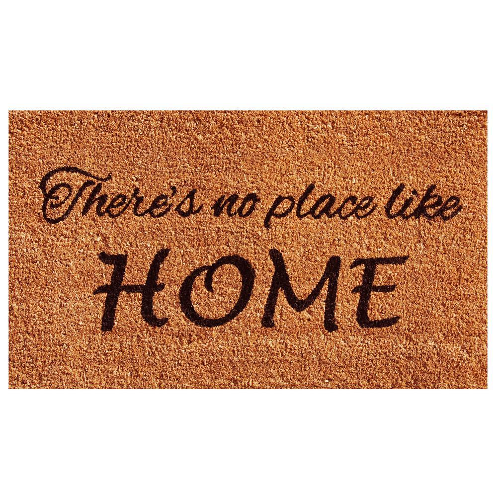 No Place Like Home Door Mat 17 in. x 29 in.