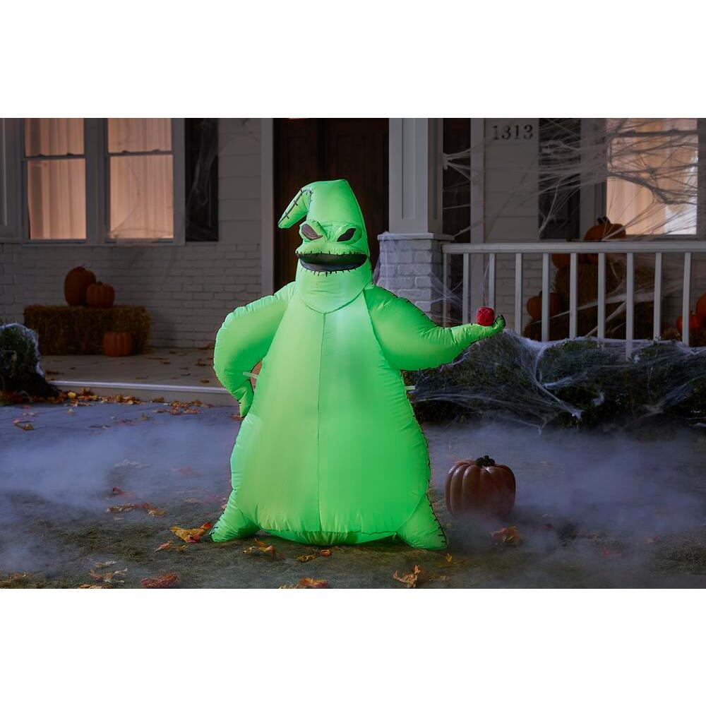 3.5 ft. Green Oogie Boogie Halloween Inflatable