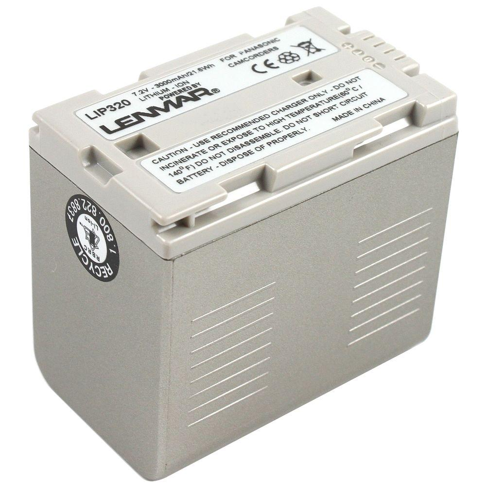 Lenmar Lithium-Ion 3000mAh/7.2-Volt Camcorder Replacement Battery