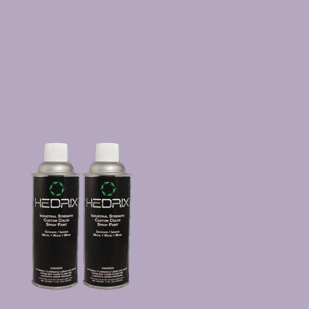 Hedrix 11 oz. Match of 2A37-4 Eternity Gloss Custom Spray Paint (2-Pack)