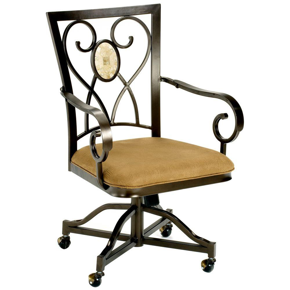 Hillsdale Furniture Brookside Castered Dining Chairs (Set of 2)