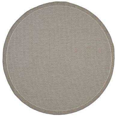 round outdoor rugs. Saddlestitch Grey/Champagne 9 Ft. X Round Indoor/Outdoor Area Outdoor Rugs N