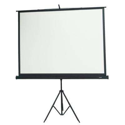 84 in. Portable Projection Screen