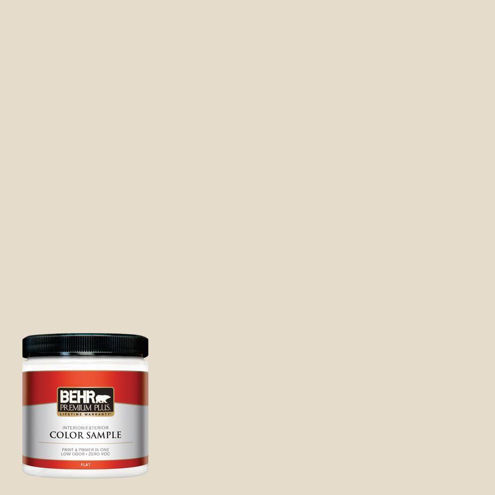 BEHR Premium Plus 8 oz. #T12-15 Serengeti Dust Zero VOC Interior/Exterior Paint Sample