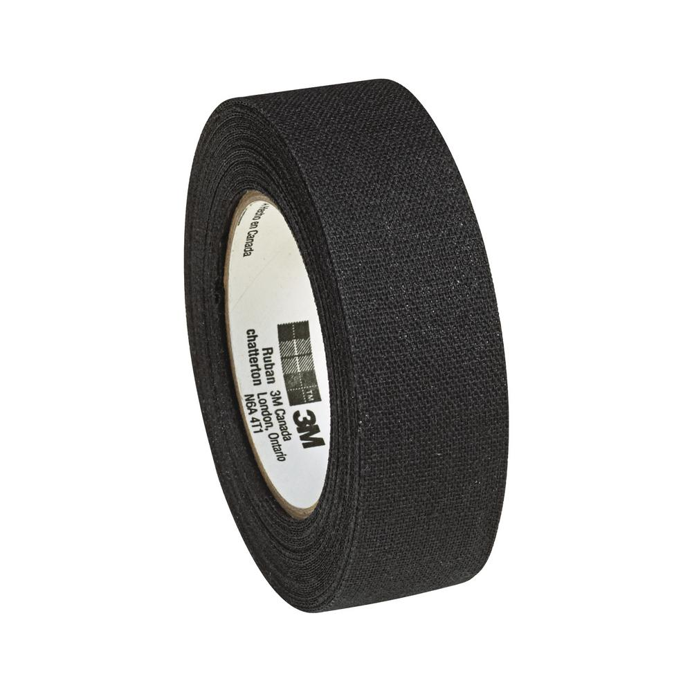 3M 3/4 in. x 20 ft. Friction Tape, Black