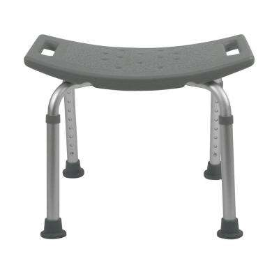 Bath Safety Bath Bench in Gray
