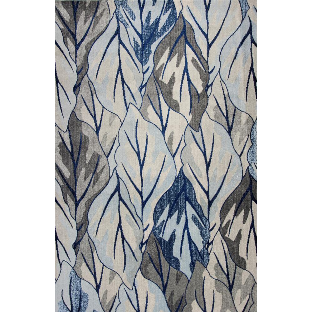 Amer PRL90203 Perla 9 Ivory-Blue Hand-Tufted Rug 2x3,