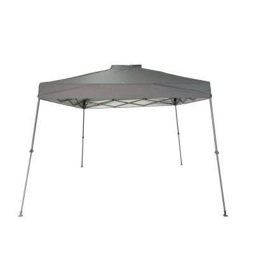 11 ft. x 11 ft. Gray Slant Leg Pop-Up Canopy