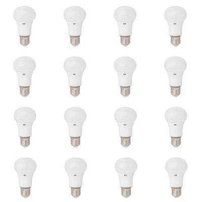 60W Equivalent Warm White Dimmable A19 LED Standard Light Bulb (12 Pack)