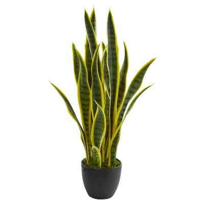26 in. Indoor Sansevieria Artificial Plant