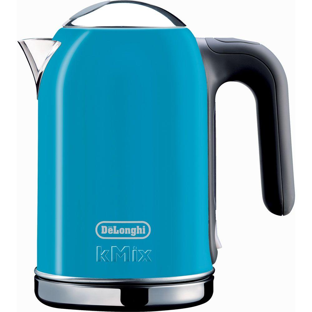 DeLonghi kMix 1.6 Liter Electric Kettle in Blue-DISCONTINUED