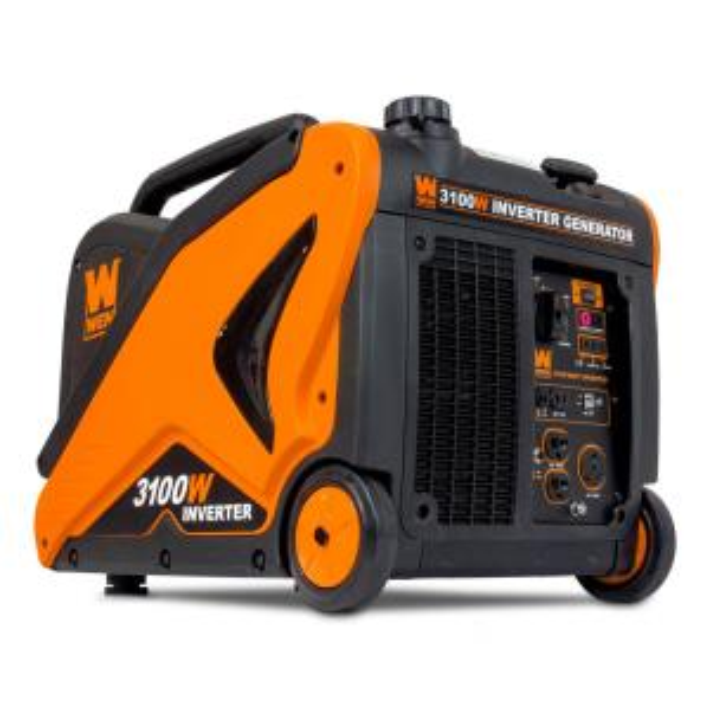 Wen Super Quiet 3100-Watt RV-Ready Gas-Powered Portable Inverter Generator CARB Compliant by WEN