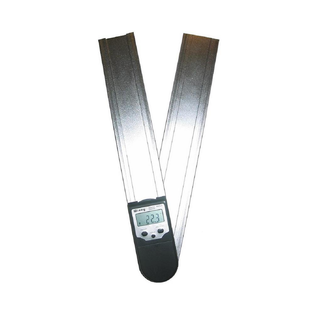 Wixey 12 in. Digital Protractor Readout with Set Miter