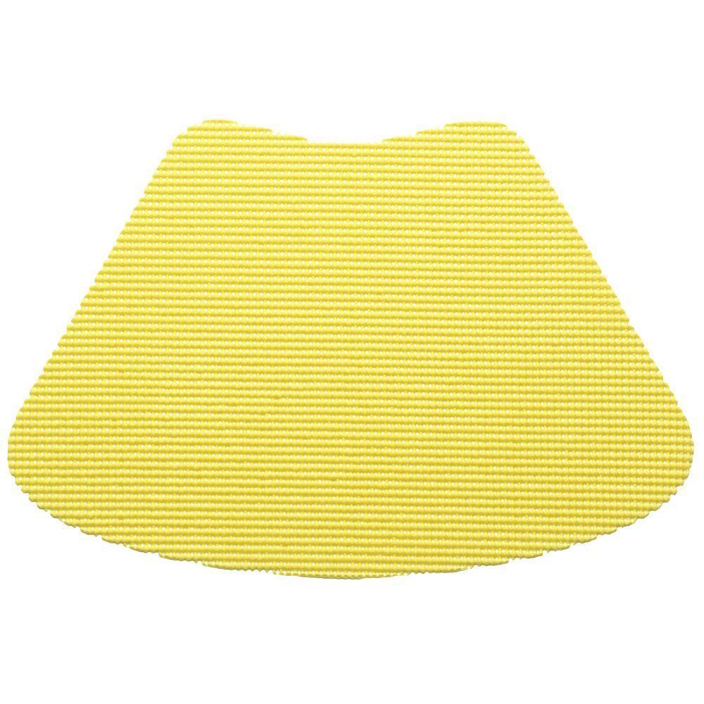 Kraftware Fishnet Wedge Placemat in Lemon (Set of 12) by Kraftware