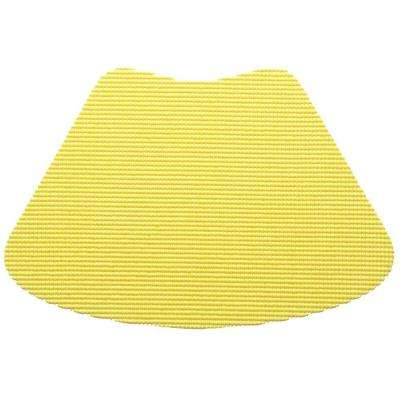 Fishnet Wedge Placemat in Lemon (Set of 12)