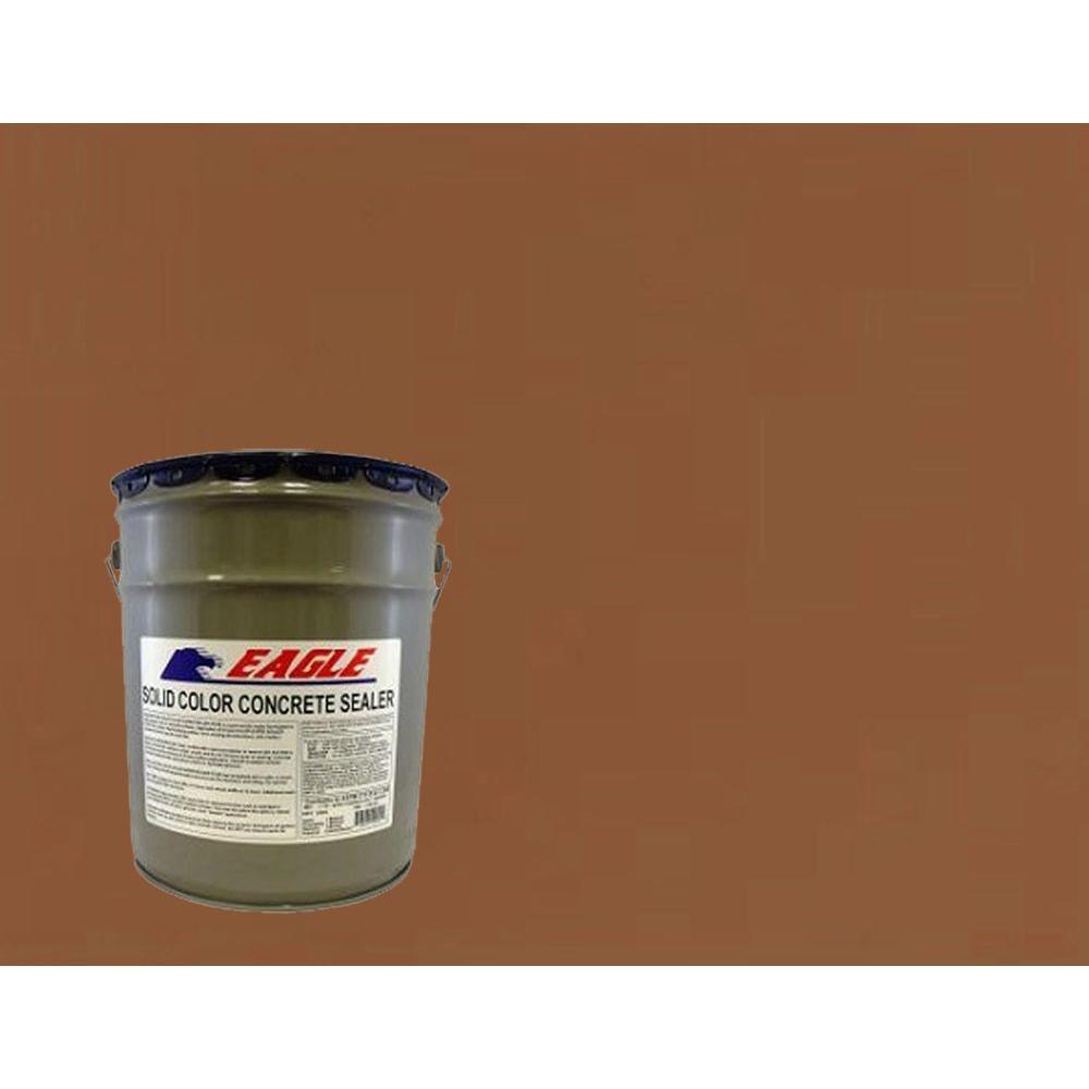 5 gal. Terra Cotta Solid Color Solvent Based Concrete Sealer
