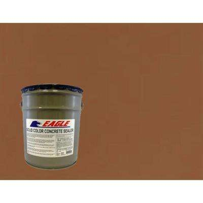 5 gal. Terra Cotta Solid Color Solvent Based Concrete Sealer