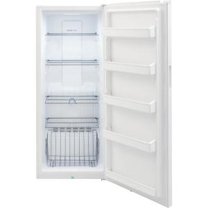 13 cu. ft. Frost Free Upright Freezer in White with Reversible Door