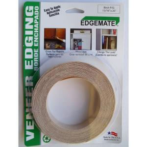 Iron on with Hot Melt Adhesive Wood Veneer Edge Banding Made in USA. Walnut 5//8 X 25 Roll Preglued Easy Application Wood Edging Flexible Wood Tape Sanded to Perfection