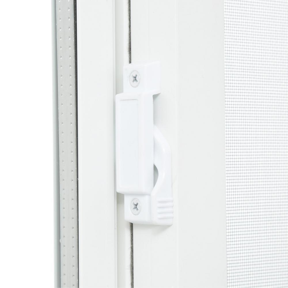 Single sliding vinyl window white tafco windows left hand for Vinyl insulated windows