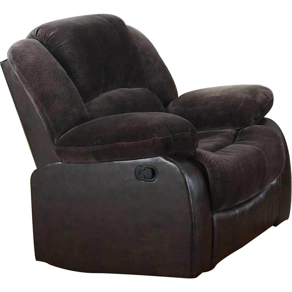 Brown Champion PU Recliner