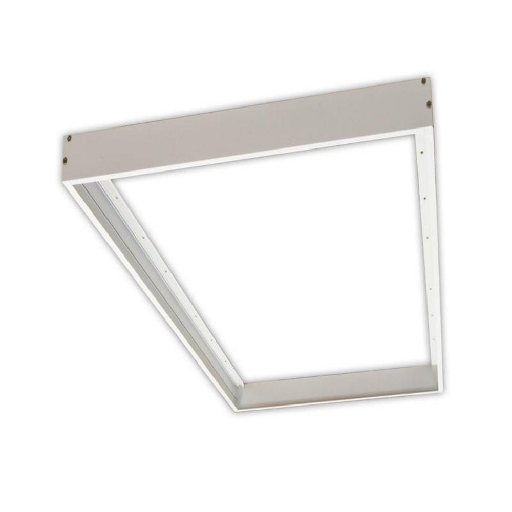 1 ft. x 4 ft. 32-Watt Flat Panel LED White Surface Mounting Frame Kit