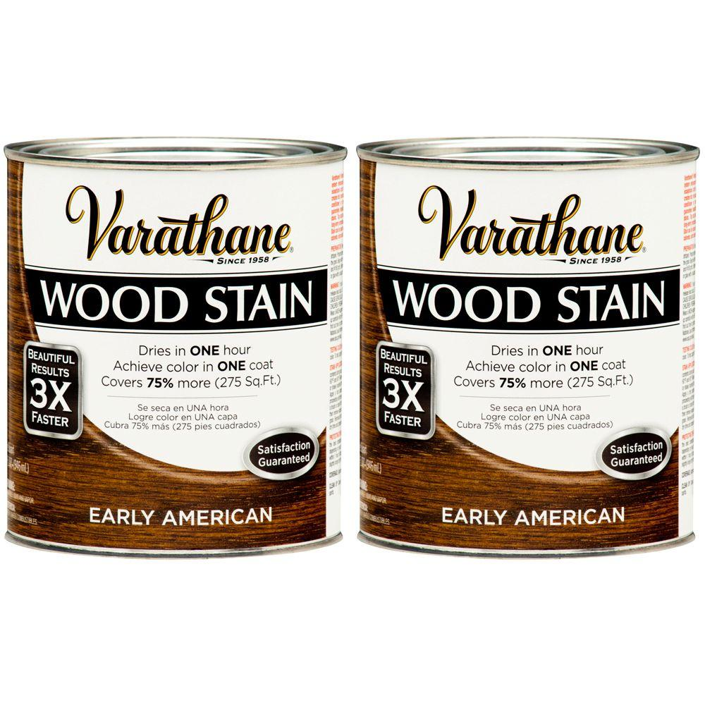 Varathane 1 Qt. Early American Wood Stain (2-Pack)-DISCONTINUED