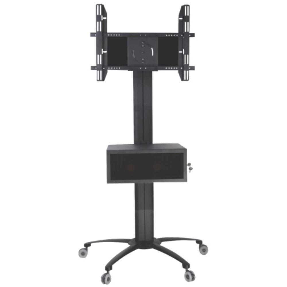 Tygerclaw mobile tv stand for 30 in 60 in flat panel for Mobile tv dwg