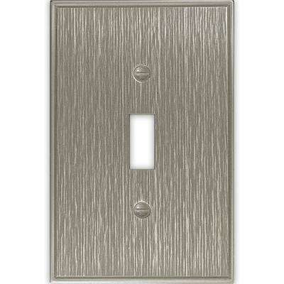 Pearson 1 Gang Toggle Brushed Nickel