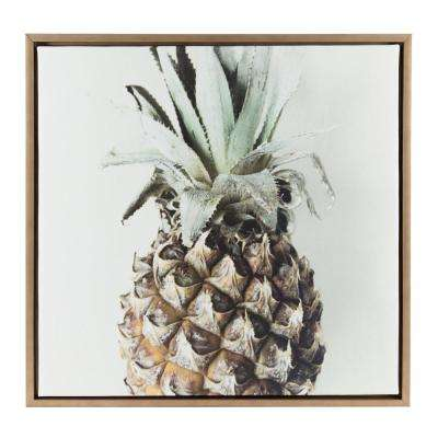 "Sylvie ""Pineapple Solo Tighter"" by F2Images Framed Canvas Wall Art"