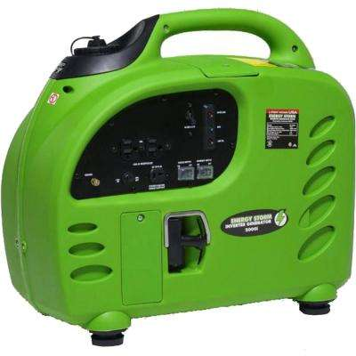 Energy Storm 2,000/1,800-Watt Gas Powered Portable Inverter Generator- 50 State Compliant
