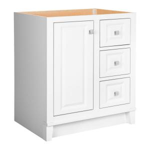 Glacier Bay Kinghurst 30 inch W x 21 inch D x 33.5 inch H Bath Vanity Cabinet Only in White by Glacier Bay