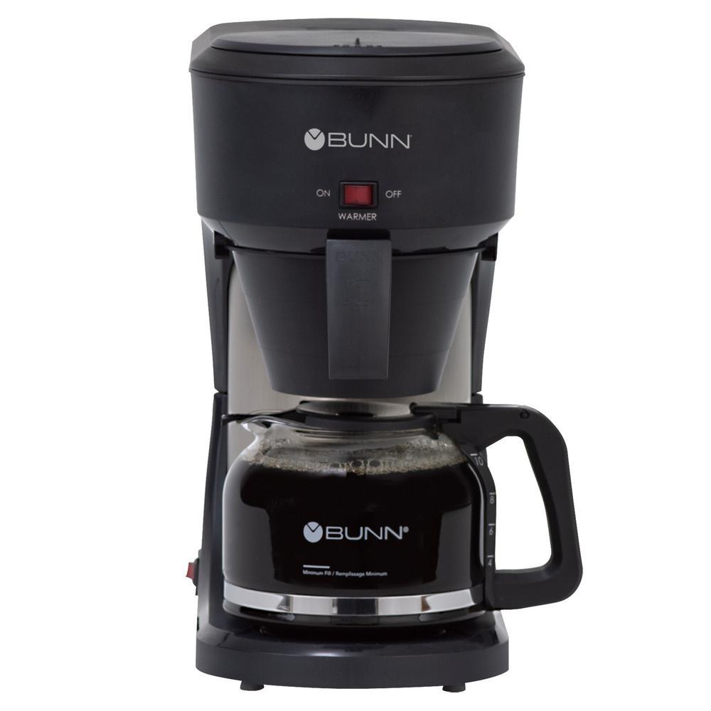 Speed Brew 10-Cup Black Coffee Maker