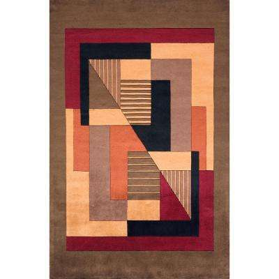 Contempo Pomegranate 2 ft. x 3 ft. Indoor Area Rug