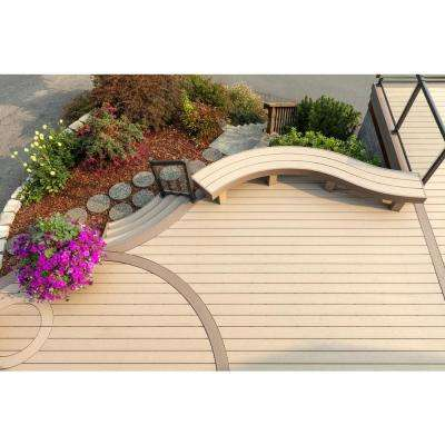AZEK Harvest 1/2 in. x 11 3/4 in. x 12 ft. PVC Fascia Decking Board