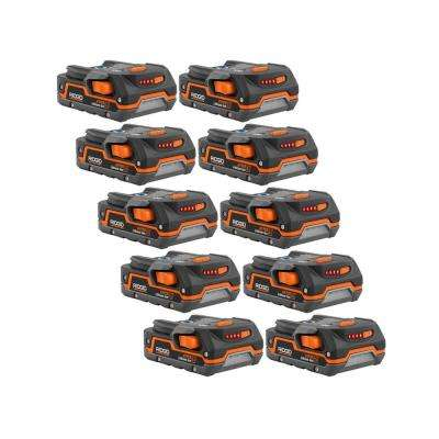 18-Volt 1.5 Ah Compact Lithium-Ion Battery (10-Pack)