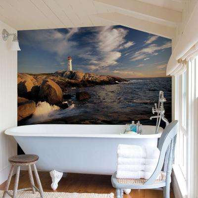 72 in. H x 48 in. W Lighthouse Wall Mural