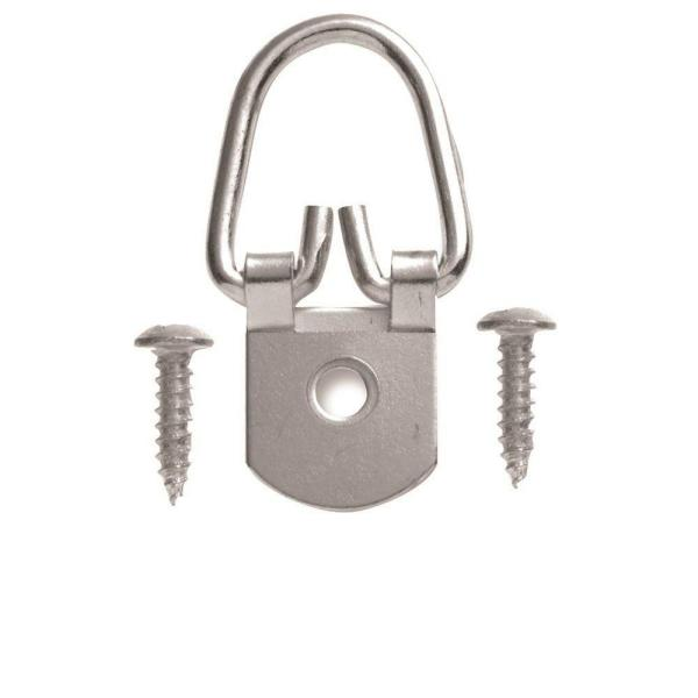 50 lb. 1 Hole D Ring Hanger (4-Pack)