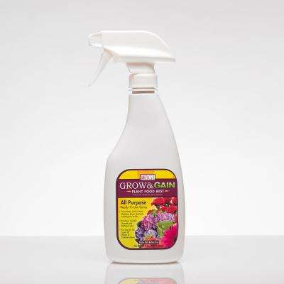 16 oz. Grow and Gain Plant Food Mist