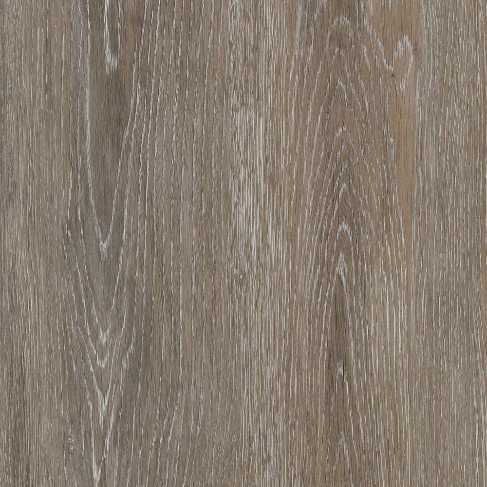 Take Home Sample - Brushed Oak Taupe Luxury Vinyl Plank Flooring - 4 in. x 4 in.
