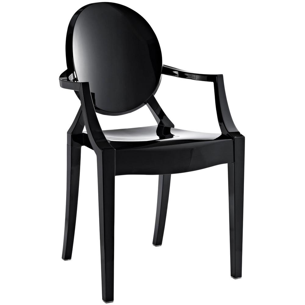 Casper Black Dining Arm Chair