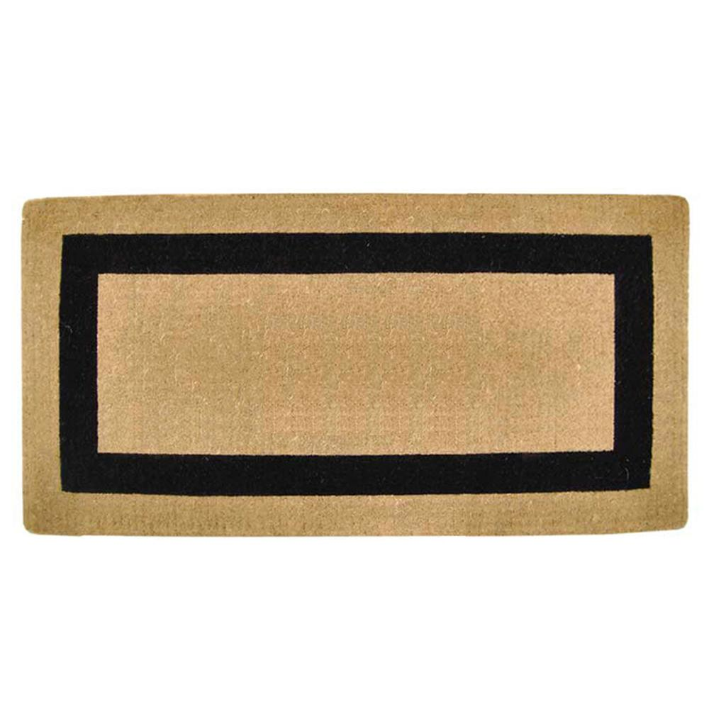 Perfect Nedia Home Single Picture Frame Black 24 In. X 57 In. Heavy Duty Coir